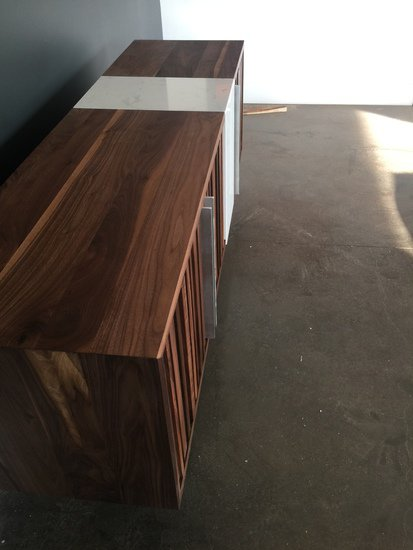 Black walnut   cambria quartz torquay credenza bois   design treniq 1 1504485422383