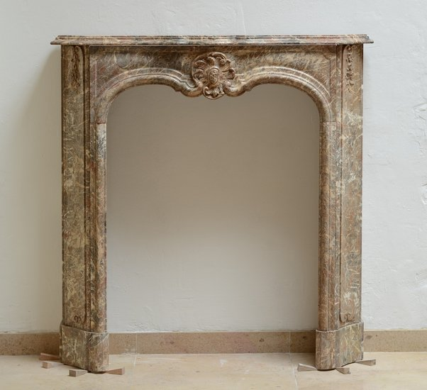 Unique petite 18th century regence fireplace mantel schermerhorn antique fireplaces treniq 1 1504599005571