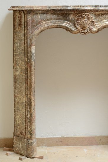 Unique petite 18th century regence fireplace mantel schermerhorn antique fireplaces treniq 1 1504599113190