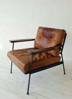 Leather club chair with metal frame shakunt impex pvt. ltd. treniq 1 1504678331014