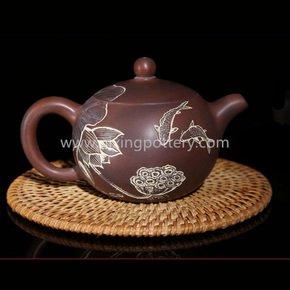 Nixing-Pottery-Fishes-Play-With-Lotuses-Teapot-Family-Use-Tea-Pot-Chinese-P_Nixing-Pottery_Treniq_0