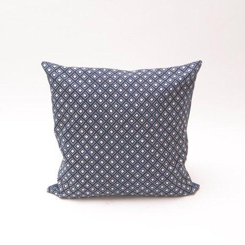 Check pattern indigo cushion bluehanded ltd treniq 1 1504736978235