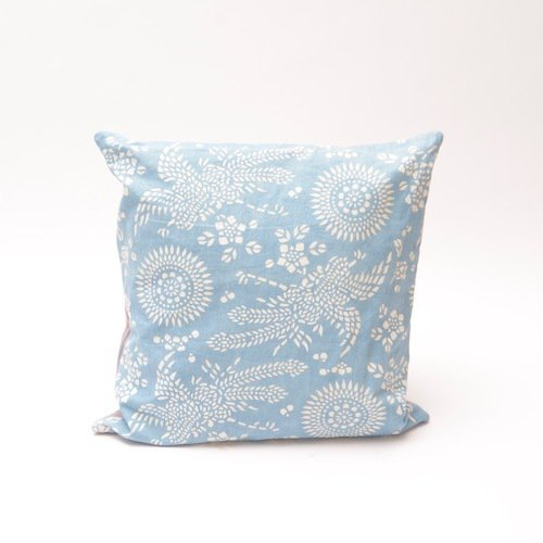 Natural light indigo phoenix pattern cushion bluehanded ltd treniq 1 1504738542234