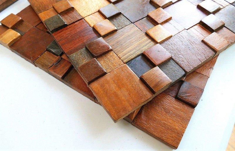Decorative wall tiles  wood mosaic  wall covering panels  wooden tiles wood mosaic ltd treniq 1 1504818428238