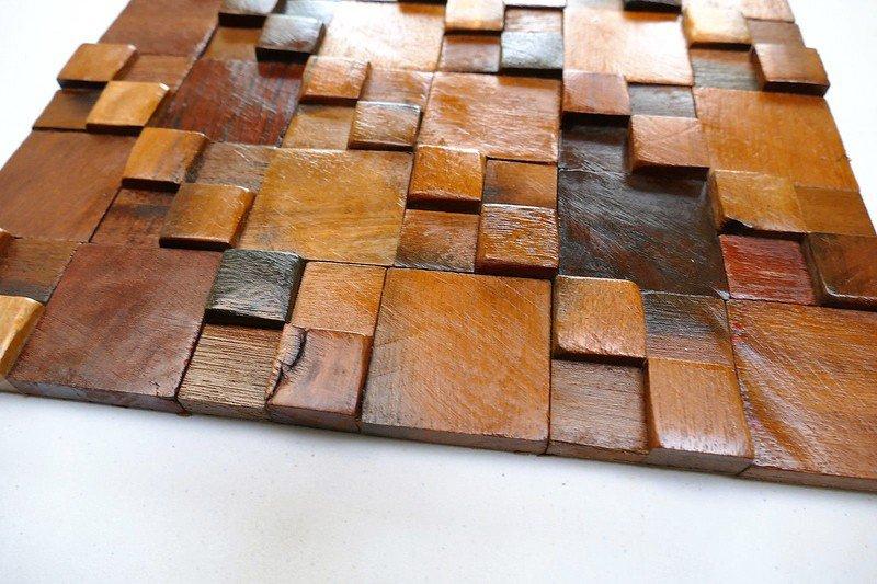 Decorative wall tiles  wood mosaic  wall covering panels  wooden tiles wood mosaic ltd treniq 1 1504818428240
