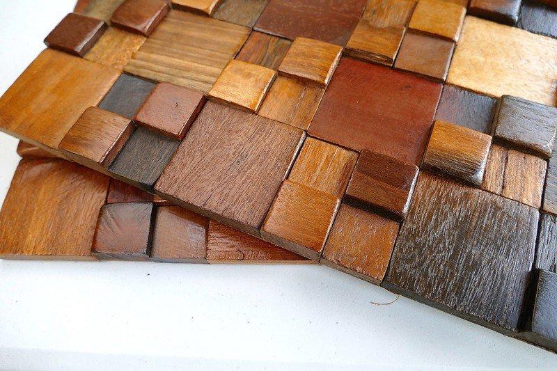 Decorative wall tiles  wood mosaic  wall covering panels  wooden tiles wood mosaic ltd treniq 1 1504818428242