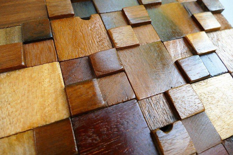Decorative wall tiles  wood mosaic  wall covering panels  wooden tiles wood mosaic ltd treniq 1 1504818428244