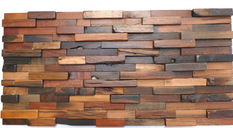 WALL CLADDING Wall Covering Wall Decor Wood Mosaic Decorative Delectable Decorative Wood Wall Tiles