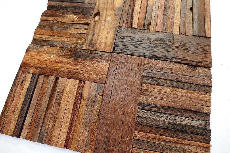 Decorative wall tiles  wood mosaic  wall covering panels  cladding  tiles wood mosaic ltd treniq 1 1504821378813