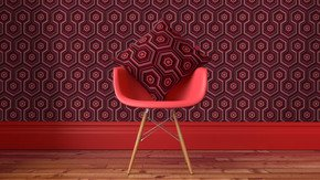 Kubrick-Wallcovering-Rum-Red_Carmine-Lake_Treniq_0