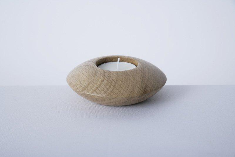Owan oak tea light holder   small design bros treniq 1 1505295201794