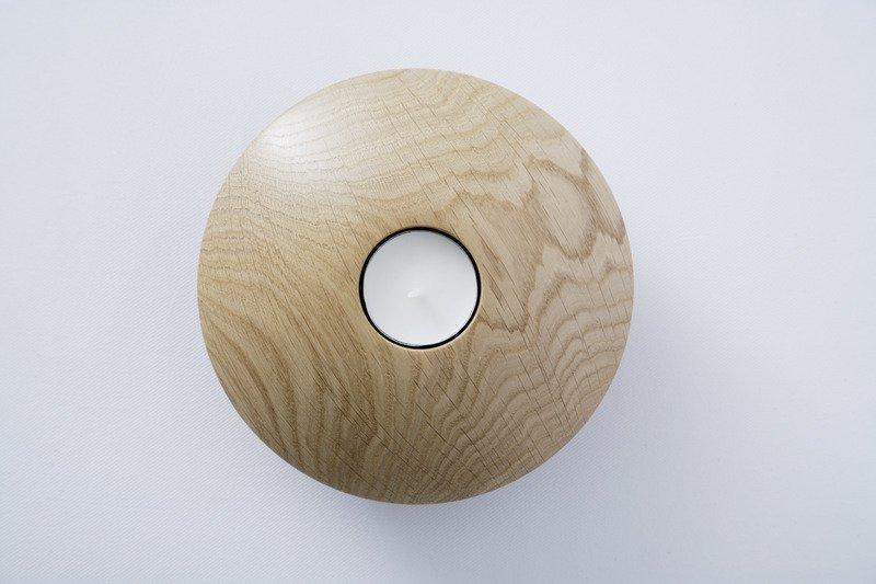 Owan oak tea light holder   large design bros treniq 1 1505295479009
