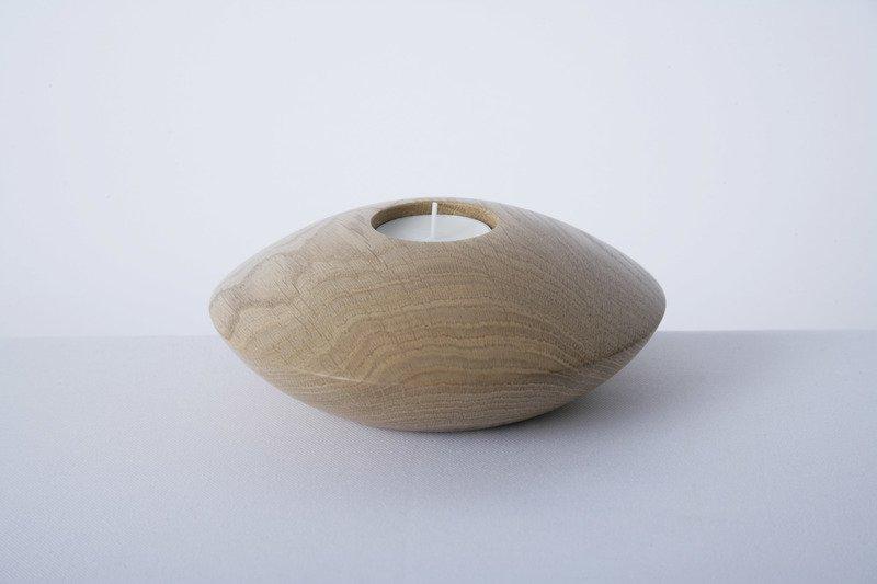 Owan oak tea light holder   large design bros treniq 1 1505295479008