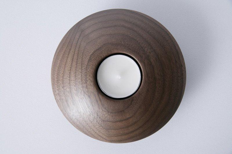 Owan walnut tea light holder   medium design bros treniq 1 1505295739066