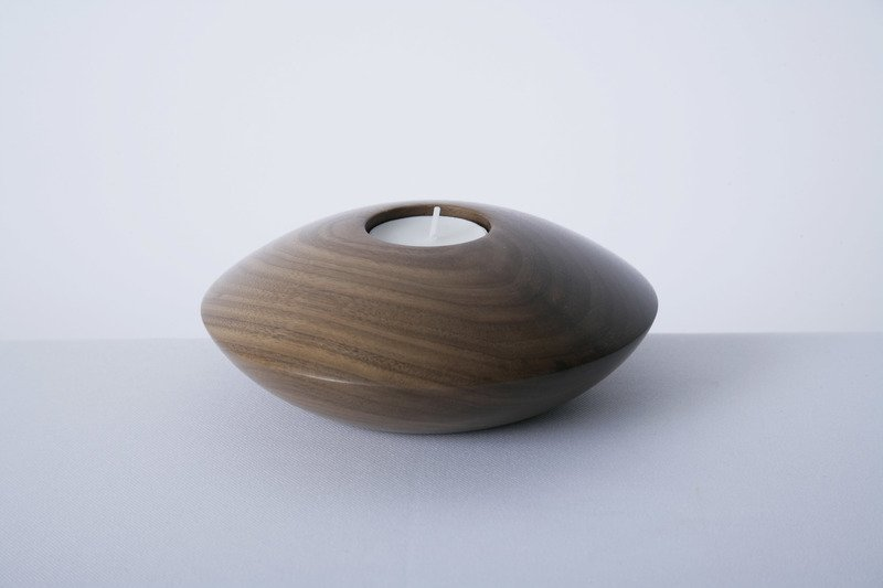 Owan walnut tea light holder   large design bros treniq 1 1505295776667