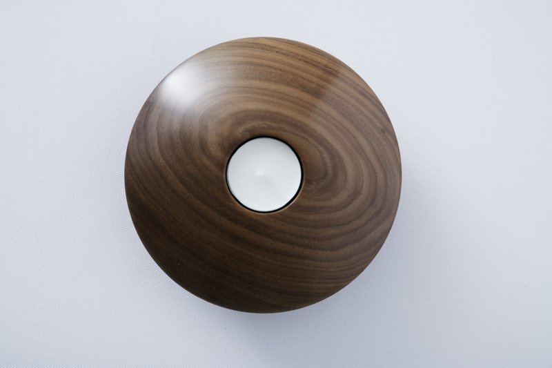 Owan walnut tea light holder   large design bros treniq 1 1505295776668