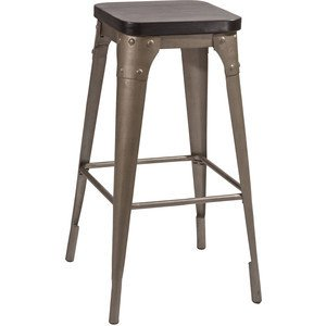 Trending gunmetal stackable wooden seat bar stool shakunt impex pvt. ltd. treniq 1 1505462375896
