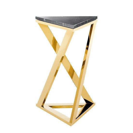 Eichholtz Side Table.Gold Finish Side Table Eichholtz Galaxy