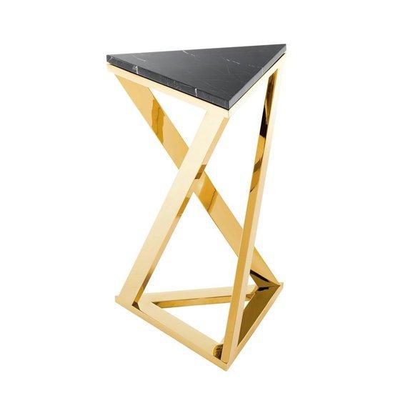 Gold finish side table   eichholtz galaxy eichholtz by oroa treniq 1 1505472316693