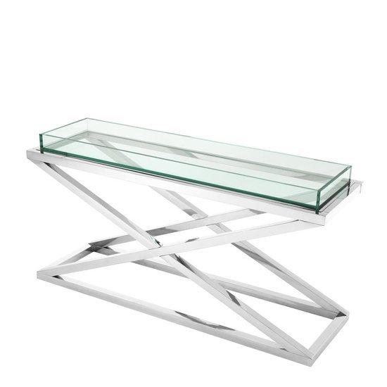 Glass console table   eichholtz curtis eichholtz by oroa treniq 1 1505473295344