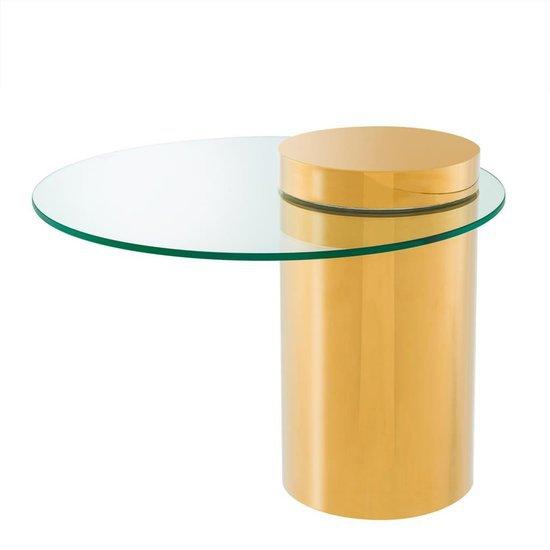 Round glass side table   eichholtz equilibre eichholtz by oroa treniq 1 1505473453142