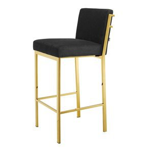"Black-Velvet-Bar-Stool-30""-