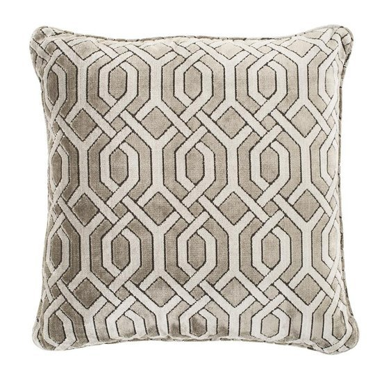 Gray velvet pillow   eichholtz trellis eichholtz by oroa treniq 1 1505474306366