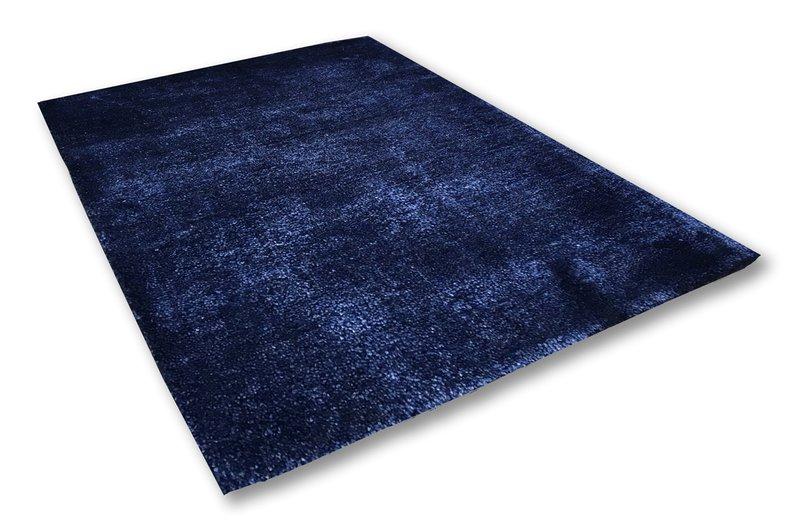 Bamboo silk indigo blue rug   extra large atelier lane treniq 1 1505518982962
