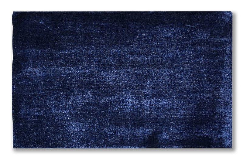 Bamboo silk indigo blue rug   extra large atelier lane treniq 1 1505518982965