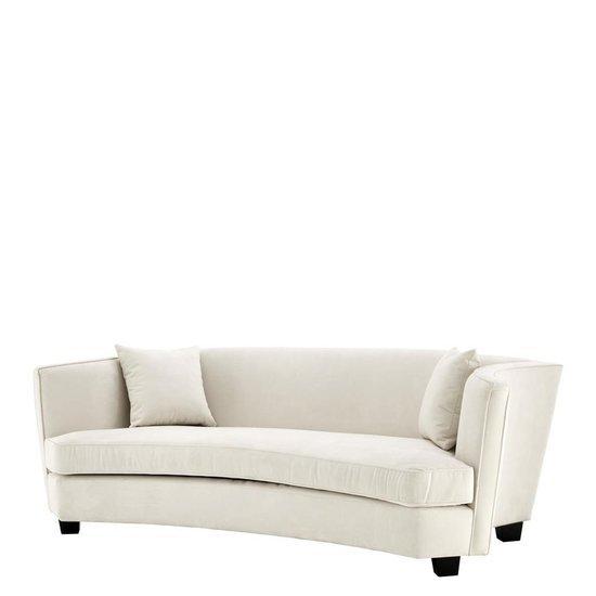Ecru velvet sofa   eichholtz giulietta eichholtz by oroa treniq 1 1505723002365