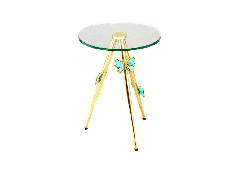 Butterfly side table aurum treniq 1