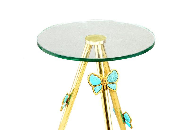 Butterfly side table aurum treniq 3