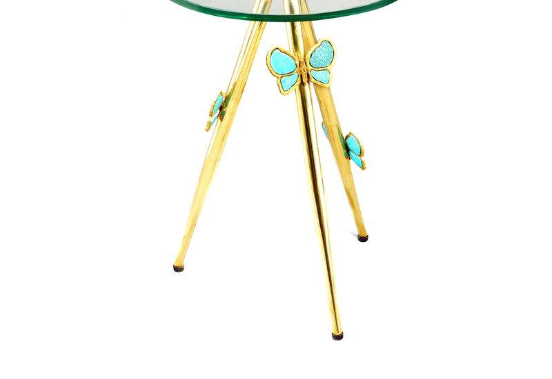 Butterfly side table aurum treniq 4