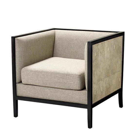 Grey cubed armchair   eichholtz lauriston eichholtz by oroa treniq 1 1505736051756