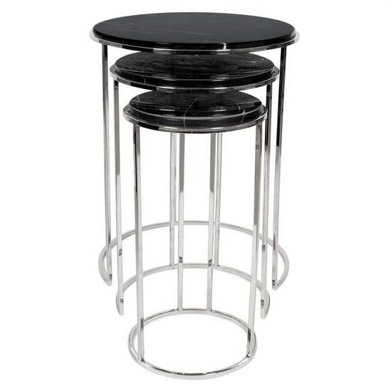 Round side table (set of 3)   eichholtz millennium eichholtz by oroa treniq 1 1505813233607