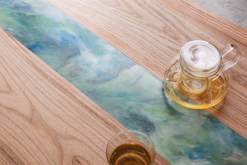 Resin art dining table frances bradley treniq 6 1506014666063