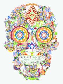 Gambling-Skull-Tufted-Rug_Mineheart_Treniq_0