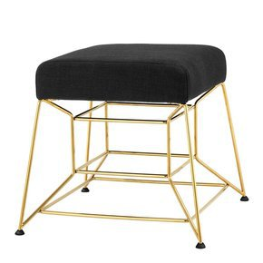 Accent Stool by Eichholtz Nero