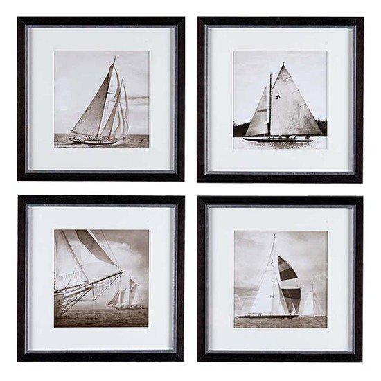 Eichholtz michael kahn boat print (set of 4) eichholtz by oroa treniq 1 1506451339894
