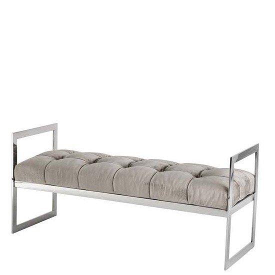Gray velvet bench   eichholtz barcelona eichholtz by oroa treniq 1 1506500633021