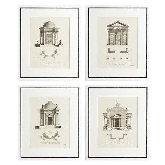 Eichholtz architecture print (set of 4) eichholtz by oroa treniq 1 1506501590338