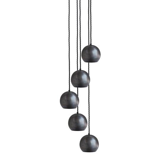 The globe collection pendant light   pewter industville treniq 1 1506515958273