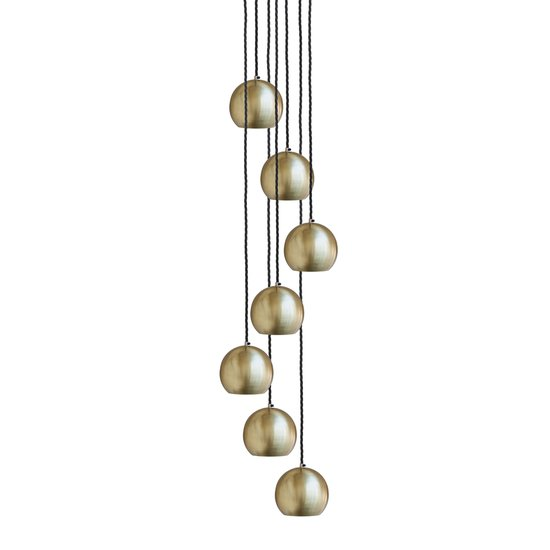 The globe collection pendant light   brass industville treniq 1 1506516217240