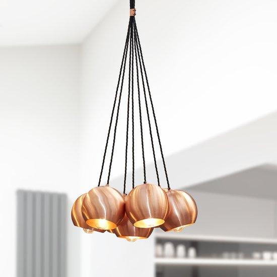 The globe collection pendant light   copper industville treniq 1 1506516491197