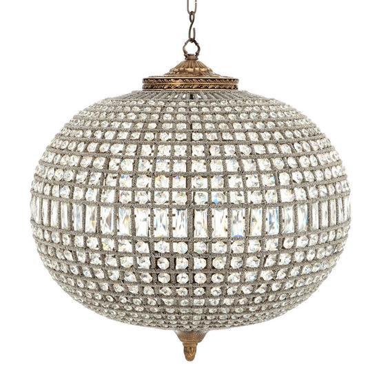 Crystal oval chandelier   eichholtz kasbah   l eichholtz by oroa treniq 1 1506527961484