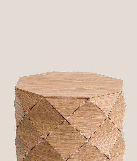 Small side table   oak tesler   mendelovitch treniq 4 1506584085507