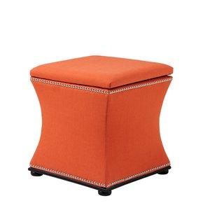Orange-Linen-Stool-|-Eichholtz-Austin_Eichholtz-By-Oroa_Treniq_0