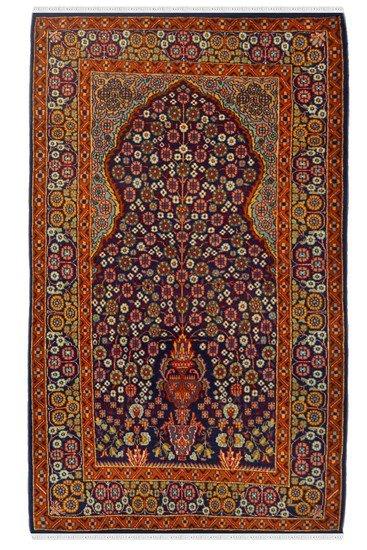 Pardah jaali kashmiri area rug yak carpet  treniq 1 1506594836044