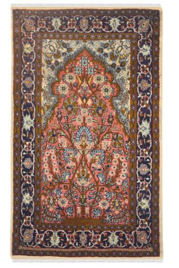 Jaal tree of life woolen area rug yak carpet  treniq 1 1506595068170