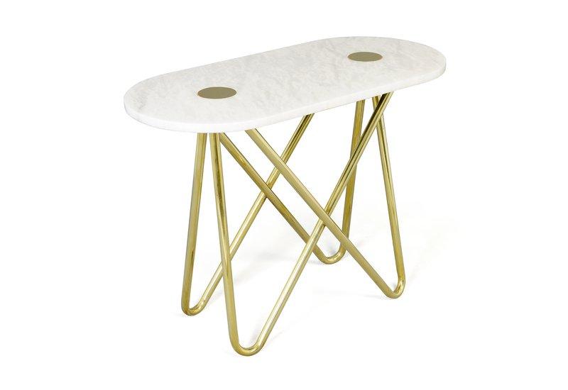 Eskimo console table aurum treniq 1